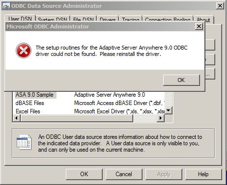 driver odbc windows 7 64 bit
