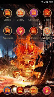 Screenshots of the Skeletons Hola for Android tablet, phone.