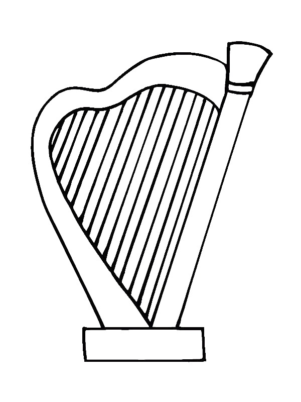 instruments coloring pages - photo#9