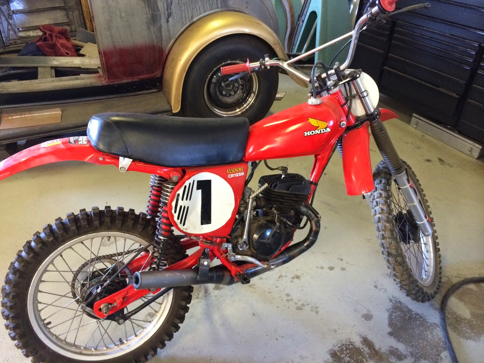 List Of Synonyms And Antonyms The Word Honda Elsinore 125 Dirt Bike Cr125 Gallery Classic Motorbikes