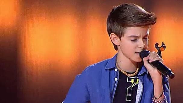 David-La Voz Kids españa