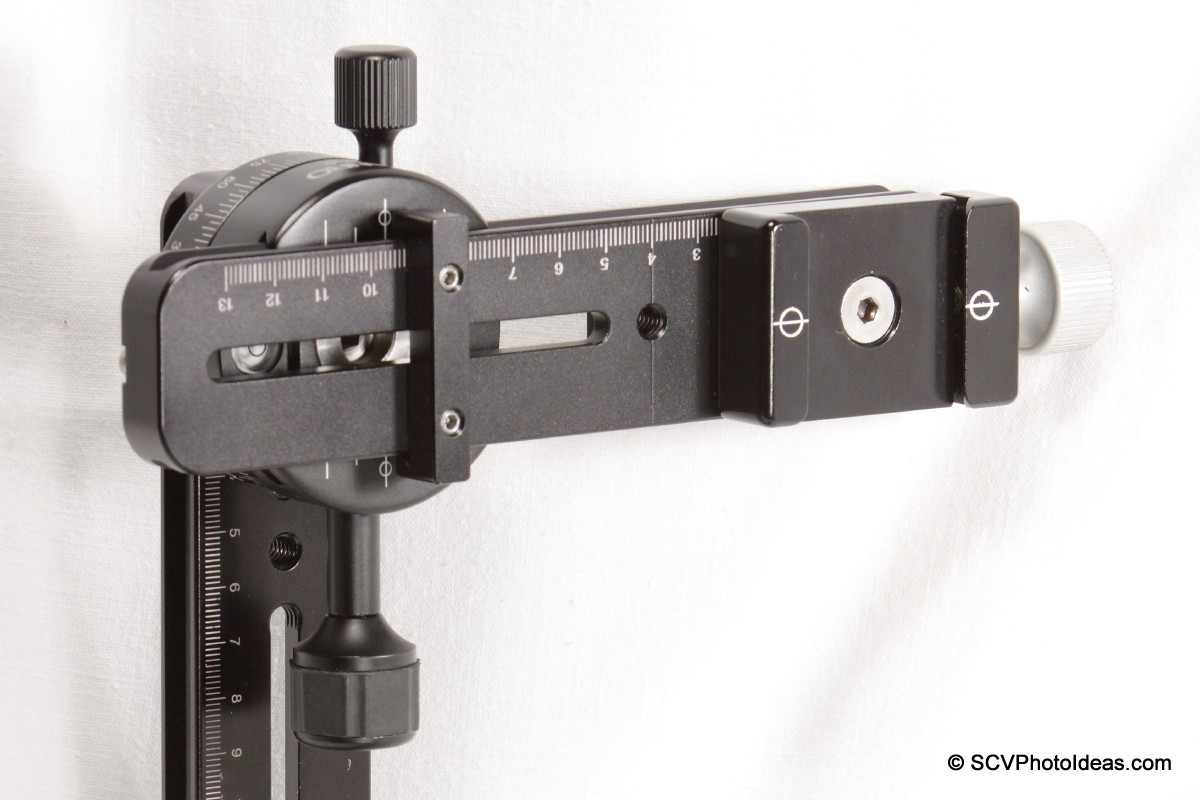 Vertical rail +PC-0 clamp w/ Nodal rail installed/aligned