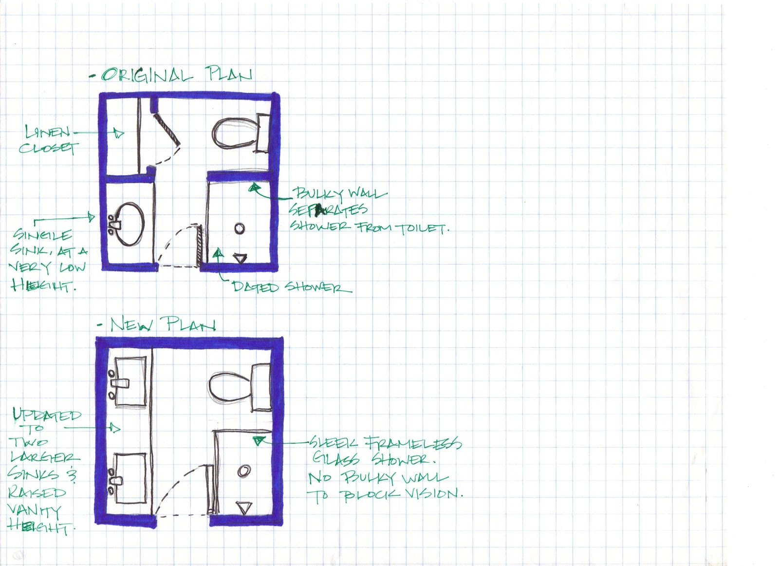 8 x 10 master bathroom layout - Half Bath Designs Wont Bore You With My Technical Cad Drawings Half Bath Designs What