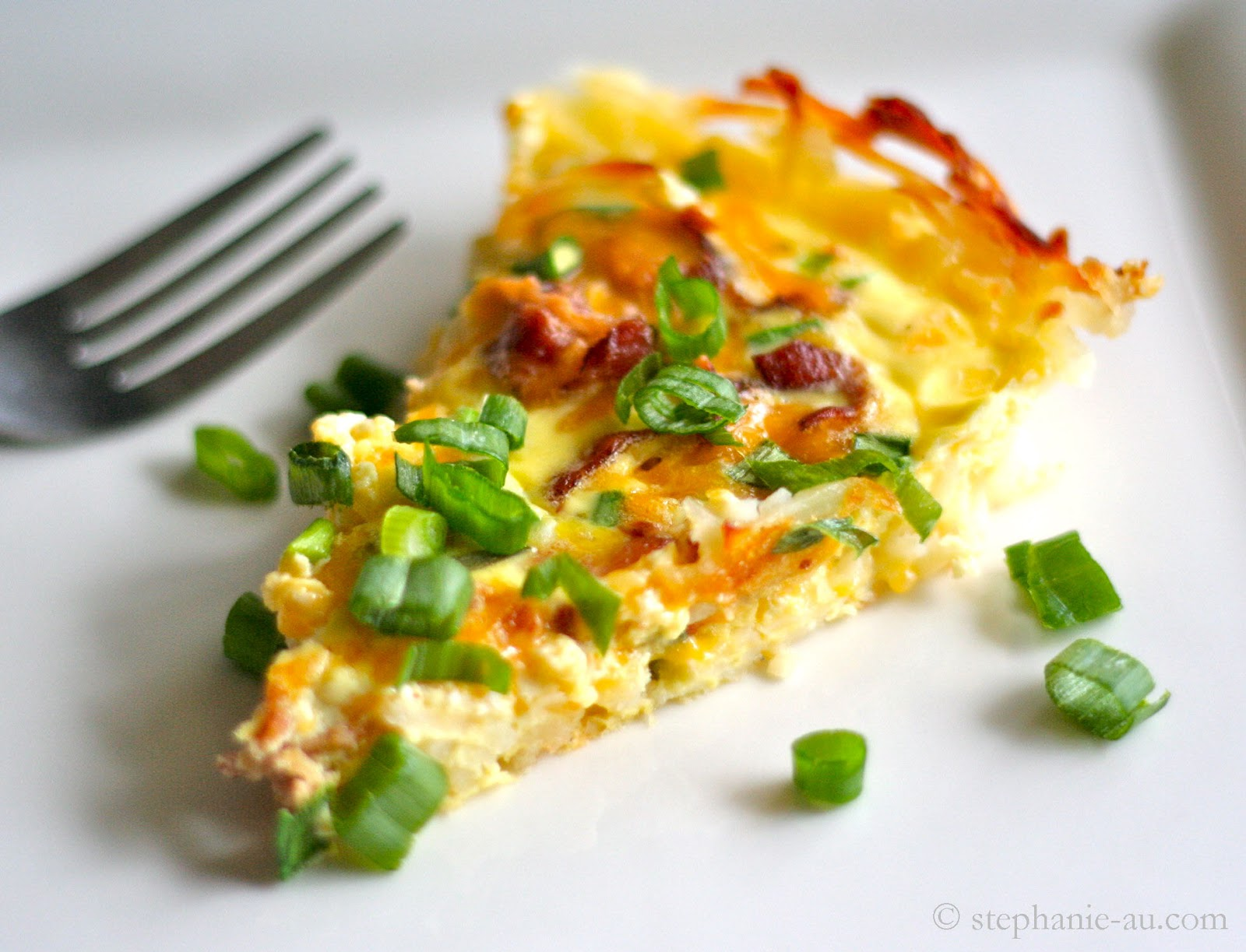 Riches To Rags By Dori Hash Brown Crusted Quiche With Bacon