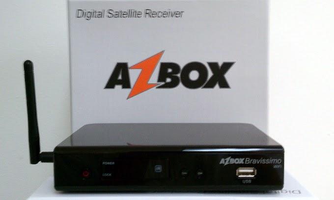 Nova Atualização Azbox Bravissimo Wifi de 28/09/12
