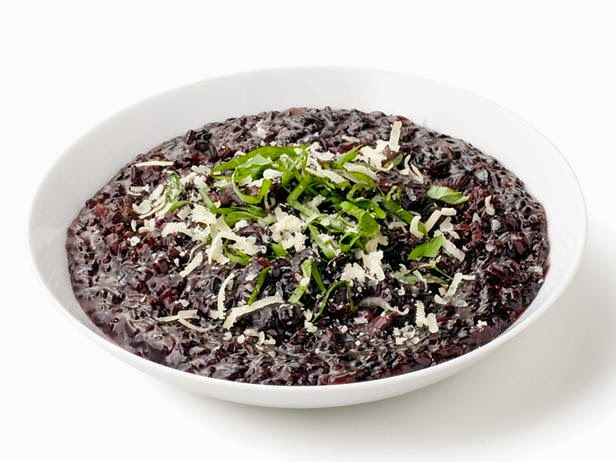 Black Rice Risotto recipe from Ellie Krieger
