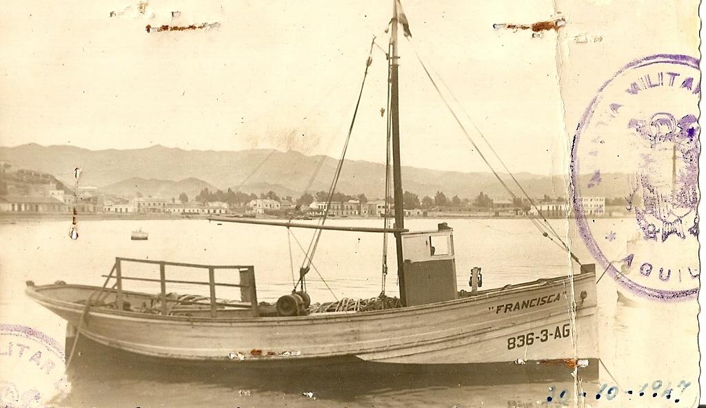 Barcos de pesca del Mediterraneo: Francisca-Adra