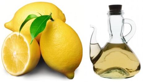 Resultado de imagen de limón y vinagre