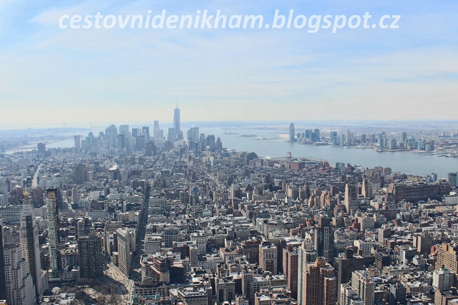 výhled na Manhattan // view of Manhattan