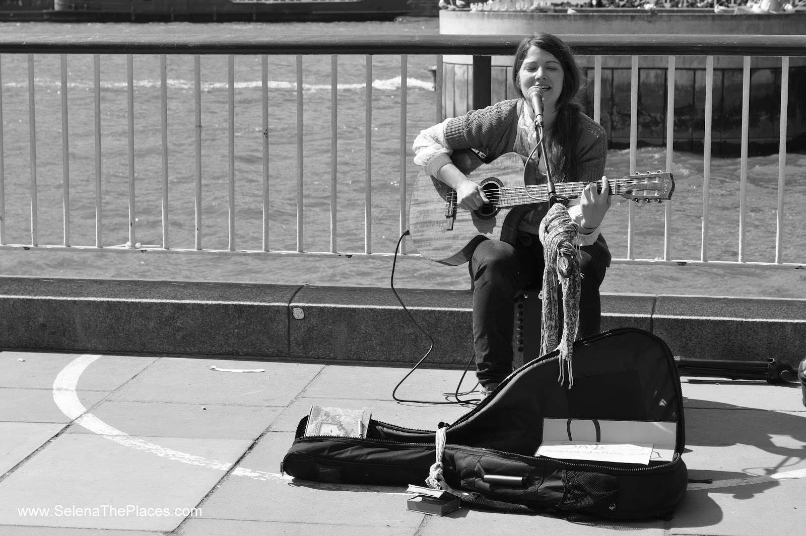 Southbank London Busker