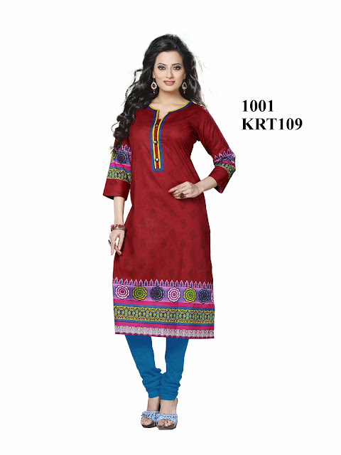Online Shopping For Printed Pure Cotton Kurti