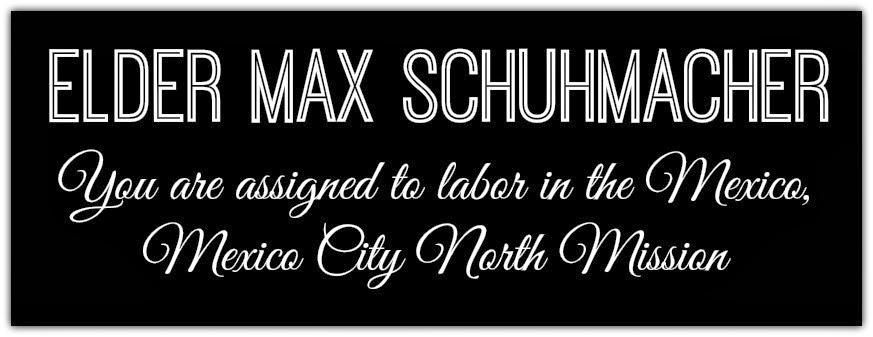 Elder Max Schuhmacher