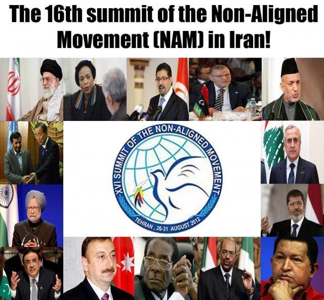 Non Aligned Movement Logo The Non-aligned Movement