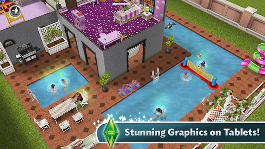 The description of The Sims FreePlay