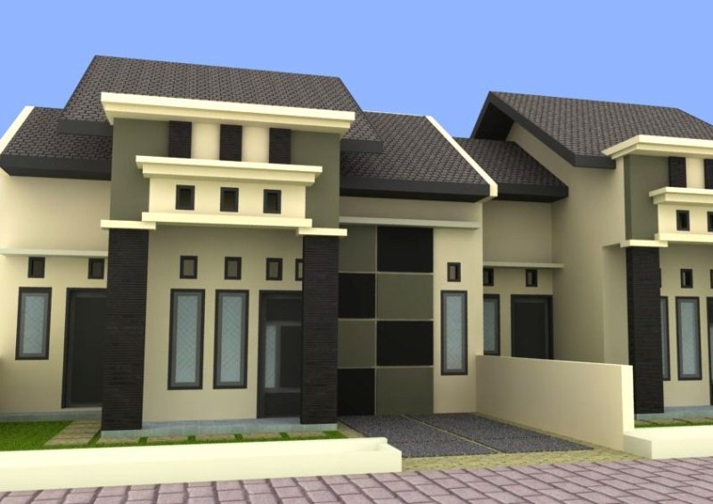 ... jpeg 64kB, Desain Rumah Mungil Type 27 | PT. Architectaria Media Cipta
