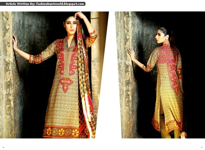 Subhata Prints Collection 2015 By Shariq Textile