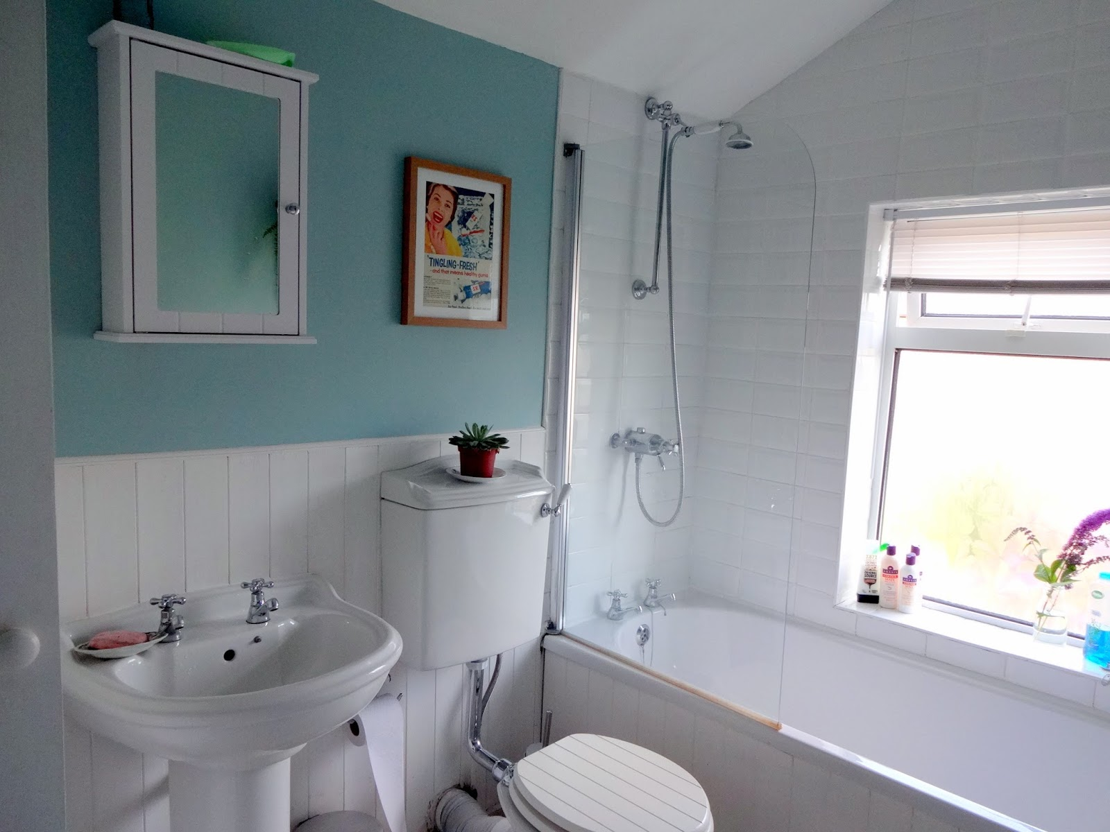 Bathroom Makeover In Hull bathroom makeover - before & after | make do and mend