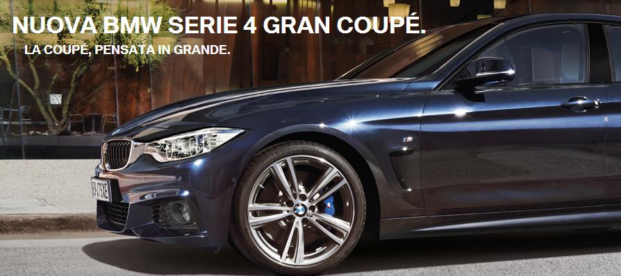 Canzone pubblicità BMW serie 4 Gran coupè 4 porte Aprile 2015