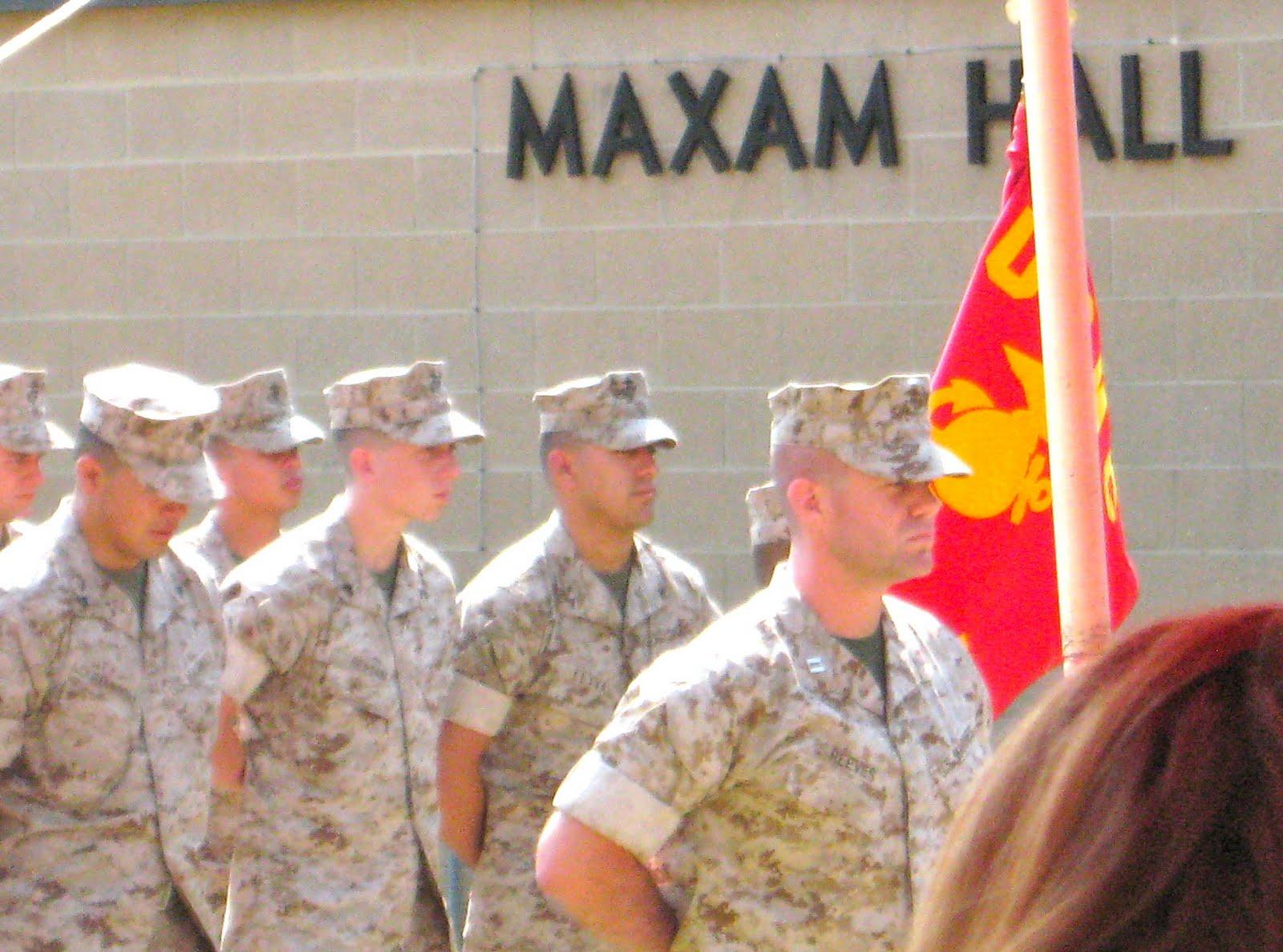 last thursday i traveled to quantico va at the invitation of the marine corps to be present for the dedication of maxam hall