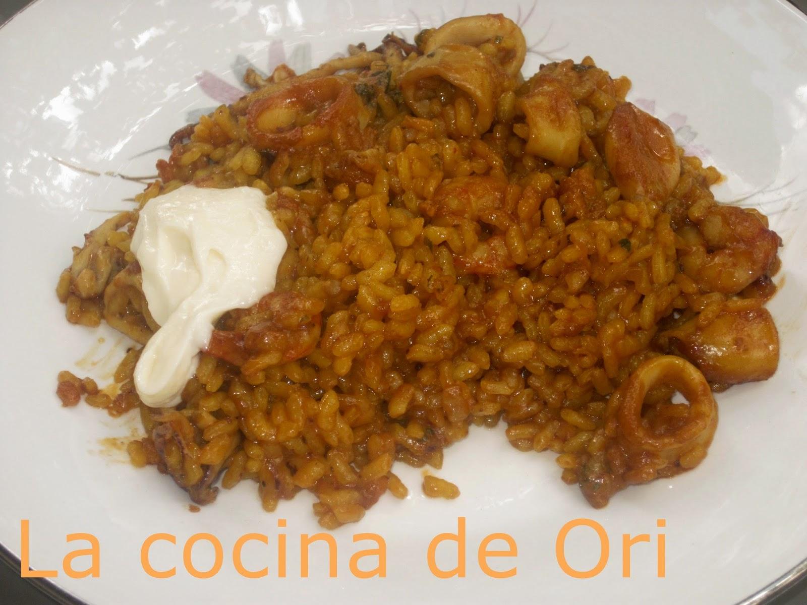 la cocina de ori arroz abanda