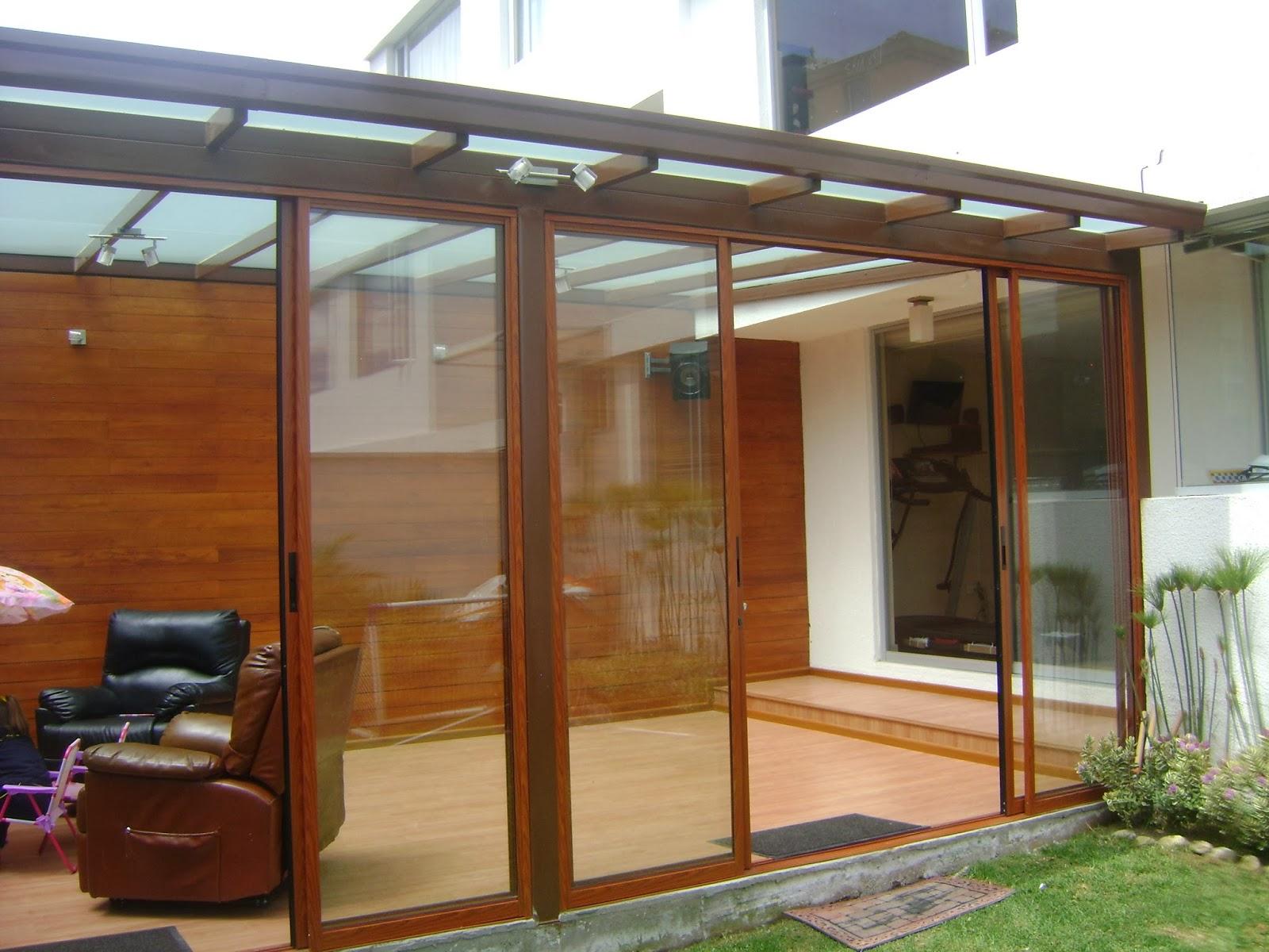 Arquitectura en madera pergolas y cubiertas traslucidas - Cubiertas para patios ...