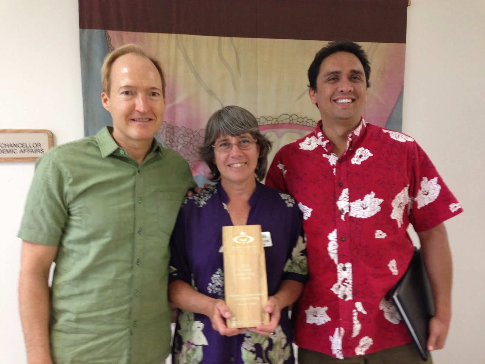 KCC and Ho'ouluwehi Receive 2013 National Climate Leadership Award!