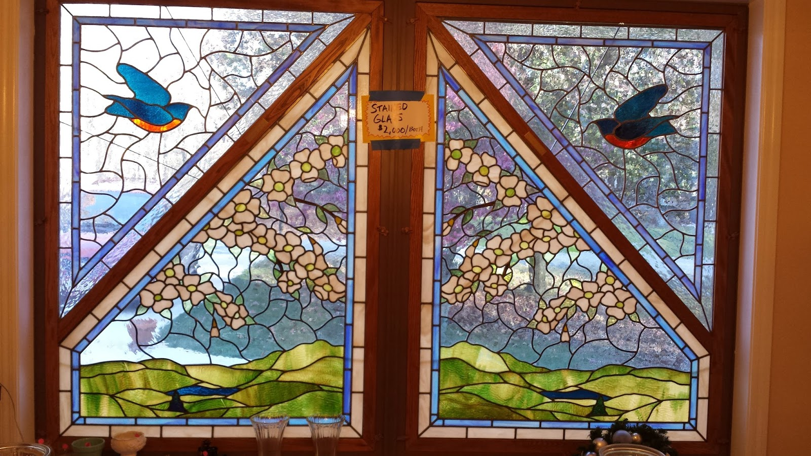 Mays Sales Gorgeous Large Stained Glass Windows For Sale