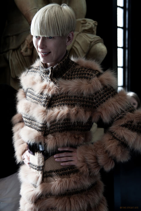 tilda swinton pringle. tilda swinton pringle. Inside the Pringle of Scotland