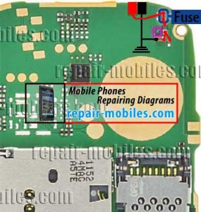 NOkia 110 or111 Charging Solution Repair Jumper Ways