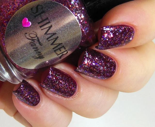 Shimmer Polish Fanny swatch