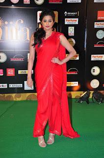 Actress Priyamani Latest Stills in Red Saree at IIFA Awards 2016  252813.jpg