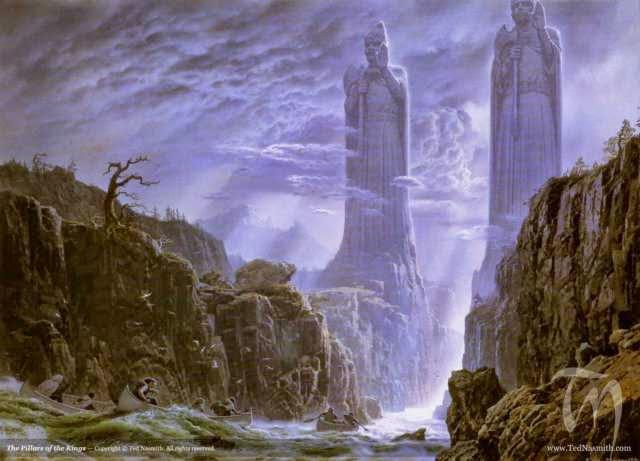 Los pilares de los reyes.