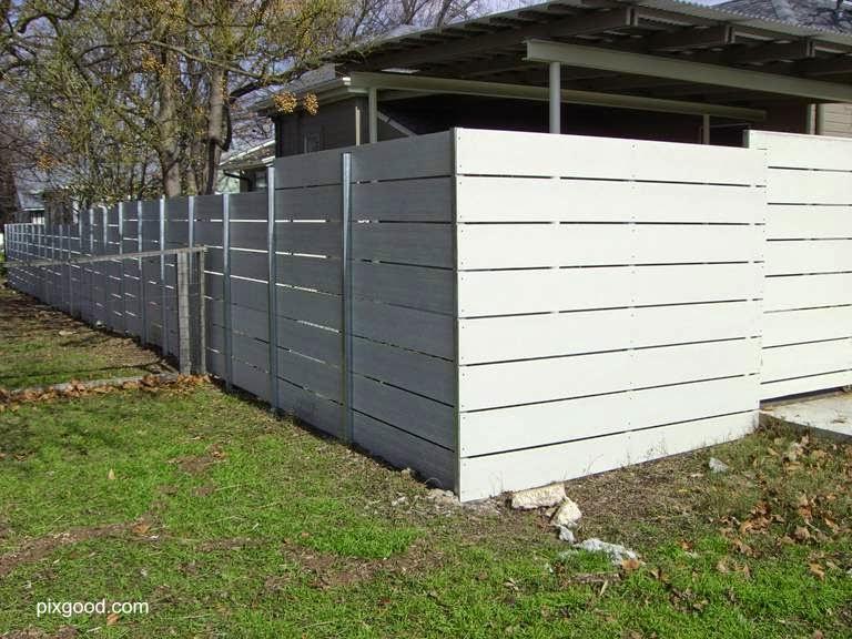 Arquitectura de casas vallas de jard n funcionales y - Vallas para casas ...
