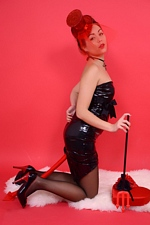 "You Have A Secret Admirer On Valentines Day! Petra At ""PIN-UP WOW!"""