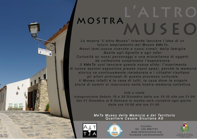 """Museo #MeTe: mostra """"L'altro Museo"""""""