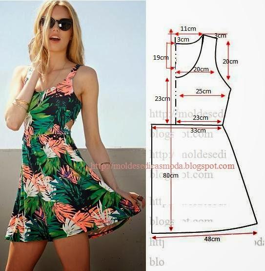 Как сшить летнее платье своими руками фото