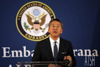 American Ambassador in Albania, Donald Lu