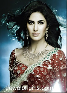 Katrina Kaif Indian Earrings