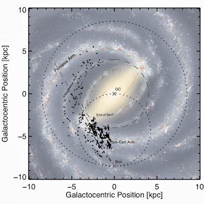 Astronomers map regions in Milky Way where stars are born
