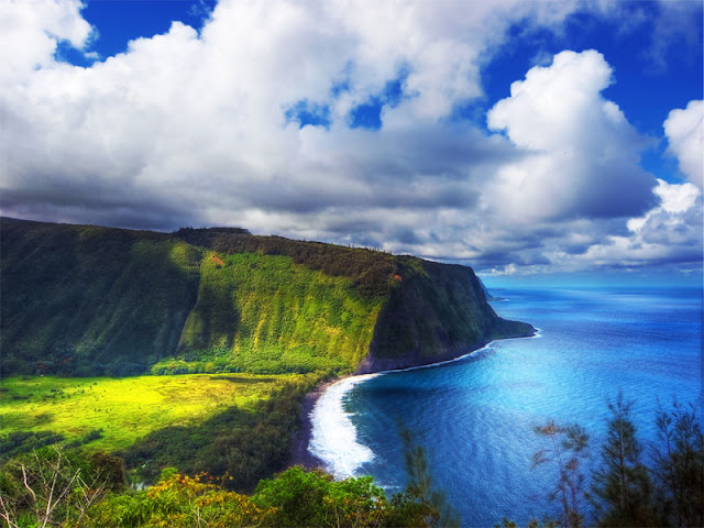 Waipio Valley en Hawaii