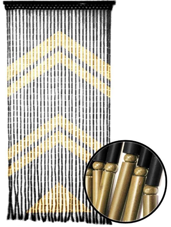 Cortinas de bamb puertas de lujo decorar casa y hogar for Cortinas decorativas para puertas