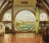 audiobook cover of The Hobbit by J.R.R. Tolkein
