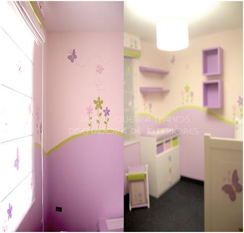 BUTTERFLY DESIGN FOR BEDROOMS - IDEAS TO DECORATE A GIRLS BEDROOM WITH BUTTERFLIES