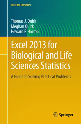 Excel 2013 for Biological and Life Sciences Statistics: A Guide to Solving Practical Problems (Excel for Statistics) - Free Ebook Download