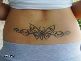 Lower Back Tribal Tattoos Designs