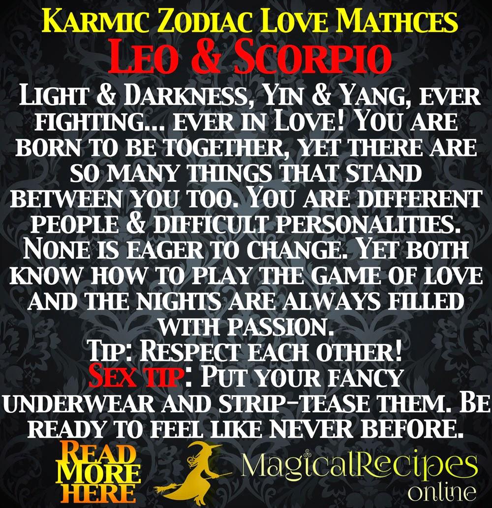 Zodiac date love compatibility leo and scorpio