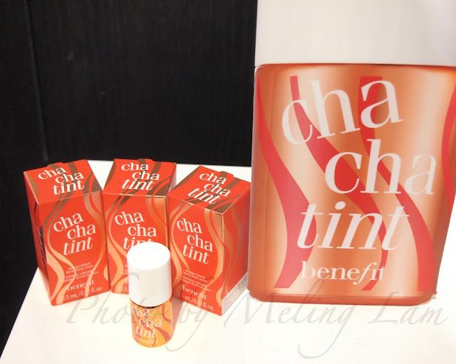 benefit cosmetics cha cha tint benetint blush lip orange warm