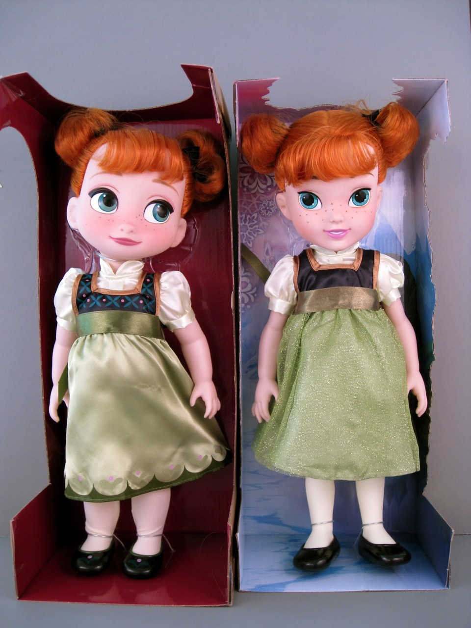 Toddler Anna Dolls