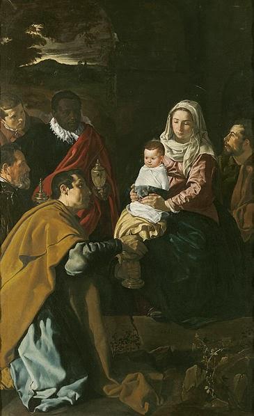 Velázquez - Adoración de los Reyes