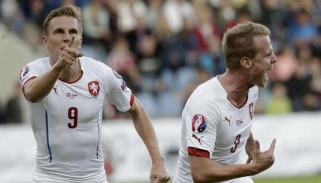 Ceko Republik Amankan Tiket Berangkat Ke EURO Perancis Setelah Taklukkan Latvia 2-1